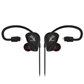 ZS3 HiFi Stereo Metal In ear Wired Earphone with Detachable Cable Earbuds Noise Cancelling Subwoofer Bass