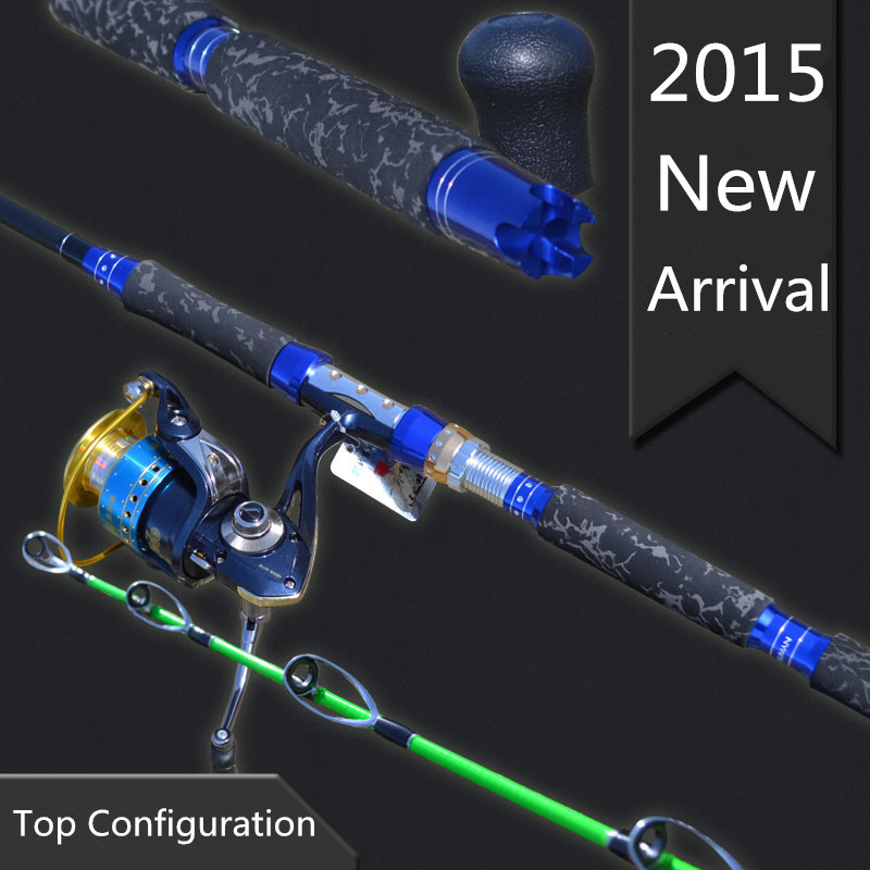 Jigging boat trolling fishing rod spinning casting for Big game fishing rods