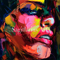 Francoise Nielly Designers Art work Hand Painted Palette knife Oil Painting Canvas Wall Decoration For Living