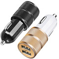 Top Quality Car Universal 2Pack Shuoge Dual USB Smart Quick Charge Car Charger Jun 9