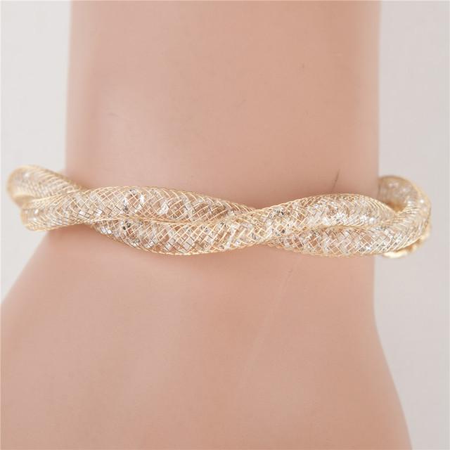 Новый имитация Stardust браслеты для женщин - крест браслет подвижный круг кулон ...