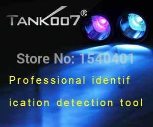 Free Shipping TANK007 L03 365nm 5W uv 18650 flashlight black light Lamp Torch Check the site survey marks Authenticity(China (Mainland))
