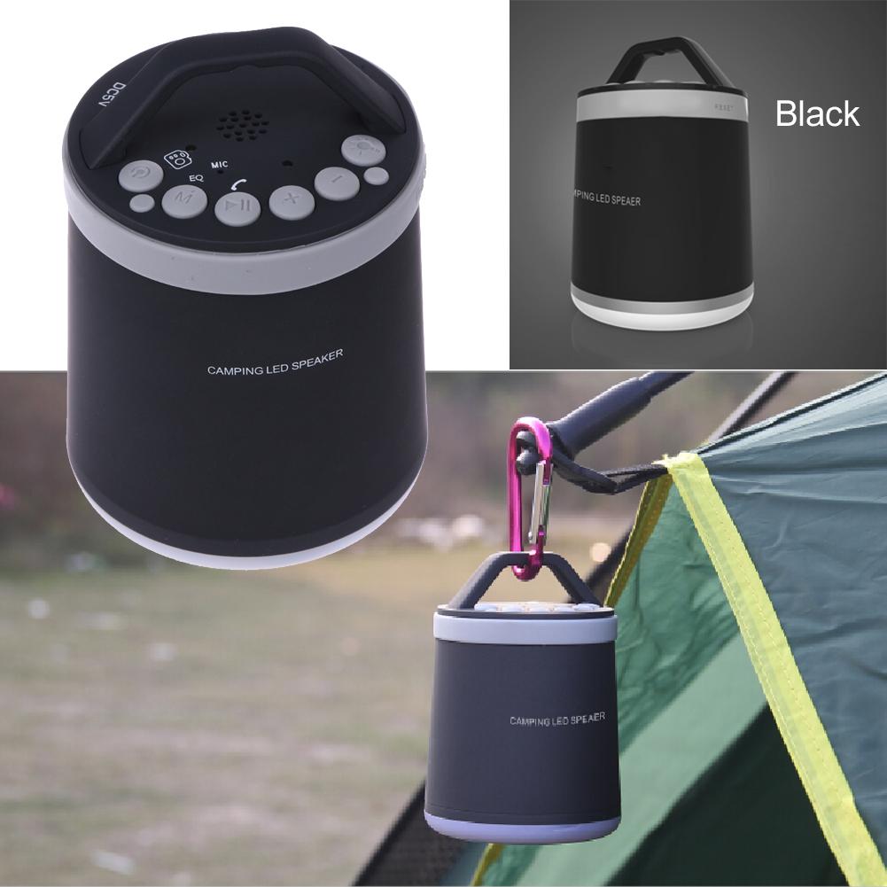 B13 Wireless Bluetooth Speaker Outdoor Camping Light Handsfree calls with LED Support TF USB FM Selfie Speaker L3FE