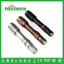 long-range zoom waterproof outdoor xenon lamp strong light flashlight tactical torch light 2*18650 battery flashlights 8067(China (Mainland))