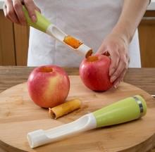 Fruit saving seeder corer separator fruit coring device digging tool fruit stalks dig Peel fruit Apple pear peach nuclear Toys  (China (Mainland))