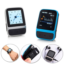 Sport MP4 Hifi Player Lossless Music MP3 Music Player FM Radio Mini MP3 Clip Player With Pedometer Recording Games Clock Display