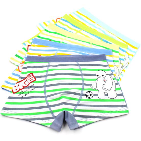 [해외]2015 남자를새로운 3PCS 어린이 속옷 소년 복서 반바지 아동..