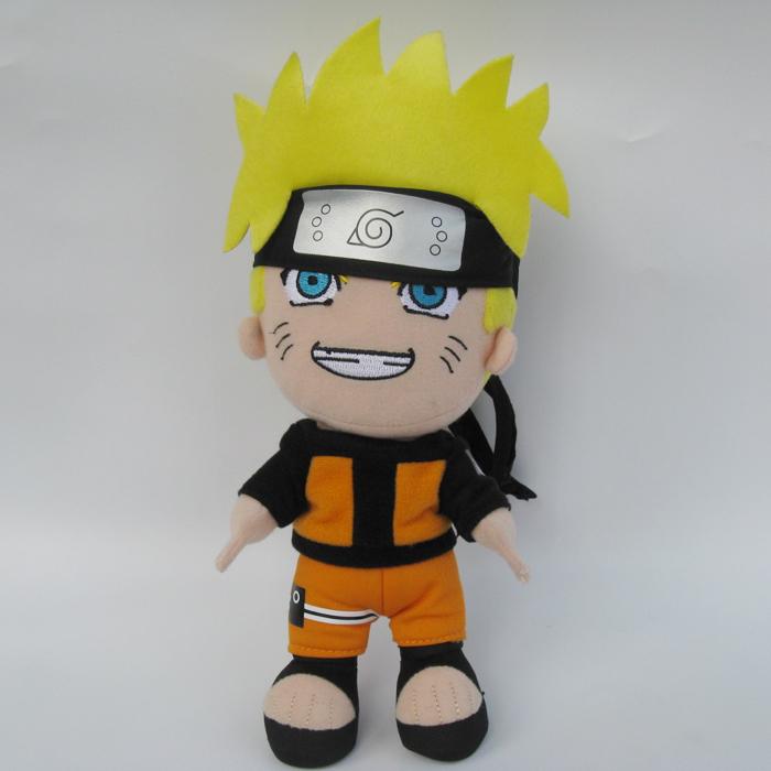 Naruto: Shippuden Naruto 8.5-inch Plush New free shipping(China (Mainland))