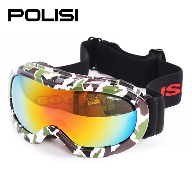 2015 new hot sale POLISI P817-GR Children Ski Snow Snowboard ski glass Eyewear Kids Snowmobile Skate Sled Windproof Glasses(China (Mainland))