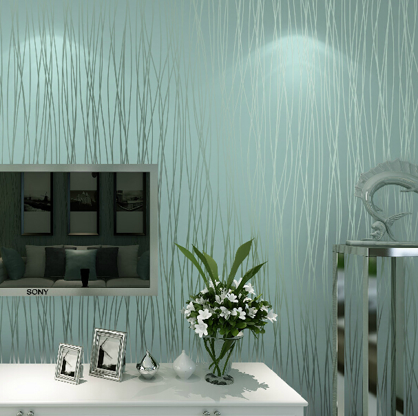 Modern Solid Striped Wallpaper 3d Embossed Non Woven Wallpaper Living Room Tv Walls Wallpaper