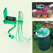 2016  Automatic Micro Home  Drip Irrigation System Sprinkler with Smart Controller for Garden,Bonsai Indoor Use #22018(China (Mainland))