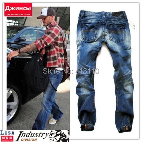2014 Italian Famous Brand Autumn and Winter Men's Jeans,Fashion Designer Warm Quality Perfume Denim Jeans Men,Plus Size CHJY3003(China (Mainland))