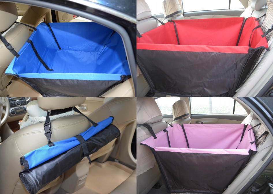 New Small Dog Puppy Pet Car Back Seat Cover Barrier ...