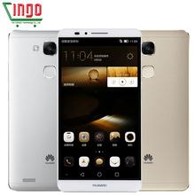 Original Huawei Ascend Mate 7 Octa Core 4G LTE Dual SIM Mobile Phone 6 inch 1920*1080 3GB RAM 32G ROM 5.0 13.0MP GPS NFC