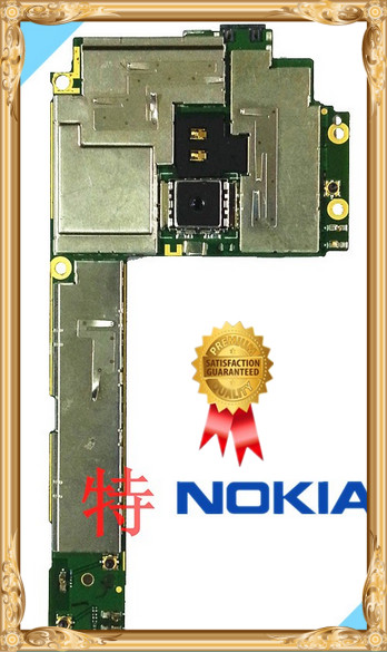 International language!Good quality Original Motherboard With cable For NOKIA Lumia 800 free shipping