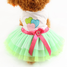 Armi store Choose Variety Styles Dog Dress Dogs Princess Dresses 6071026 Pet Clothing Skirt Supplies XS, S, M, L, XL(China (Mainland))