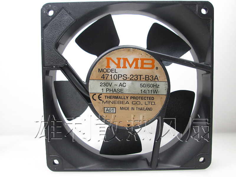 Original NMB 4710PS-23T-B3A 120*120*25MM 12cm AC230V 14/11W cabinet cooling fan<br><br>Aliexpress