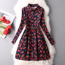 Hotsale 2016 New Fashion Women Summer Style Print Dresses Women Party Dress Floral Brand Maxi Dresses Plus size vestido Sundress(China (Mainland))