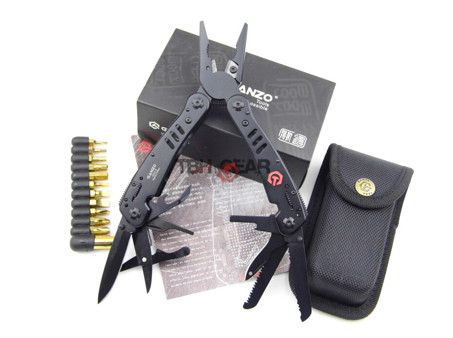 Гаджет  New arrival 26 in one G302B multitool pliers replaceable jaw design ganzo multitool+Free shipping(SKU12010279) None Инструменты