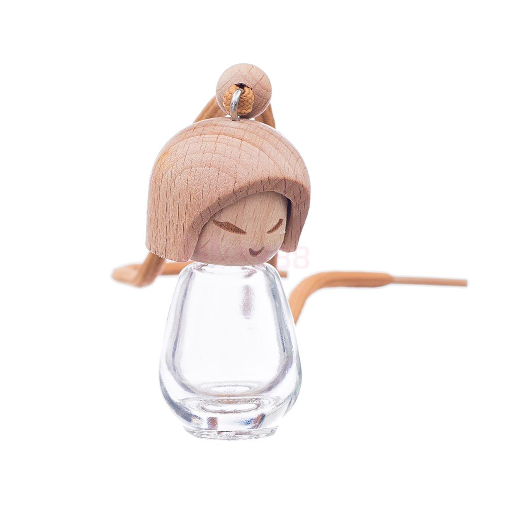Glass Bottle Pendant Necklace Perfume Essential Oil Diffuser Bottle(China (Mainland))