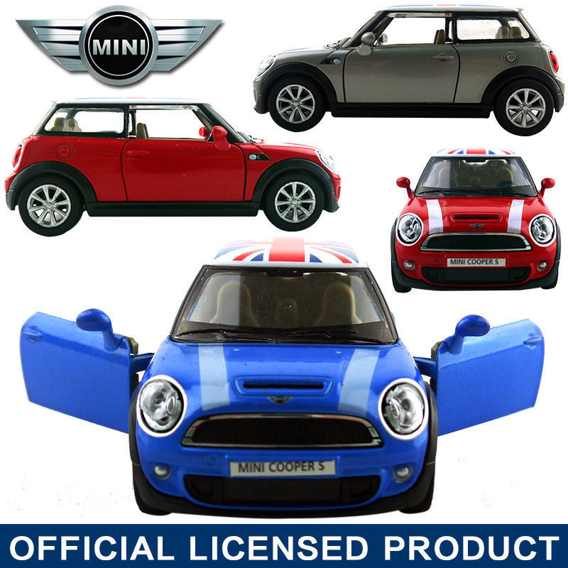 1:30 Mini Cooper S Die Cast Model Car Kid Child Pull Back Friction Powered Toy Baby Toy Gift(China (Mainland))