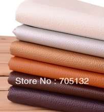 138x100cm 0.7mm thick  soft Semi PU leather faux decorative leather fabric for sofa handbag belt shoes DIY patchwork material(China (Mainland))