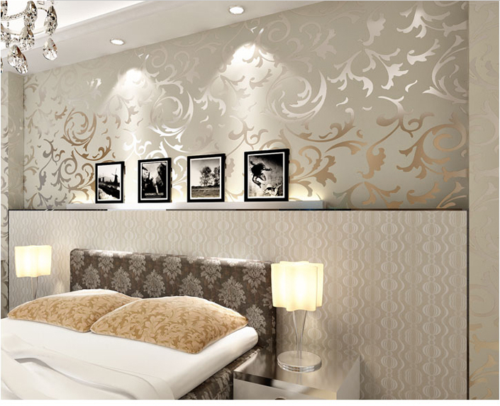10mx53cm modern living room tv background wallpaper pvc - Papeles pintados modernos pared ...
