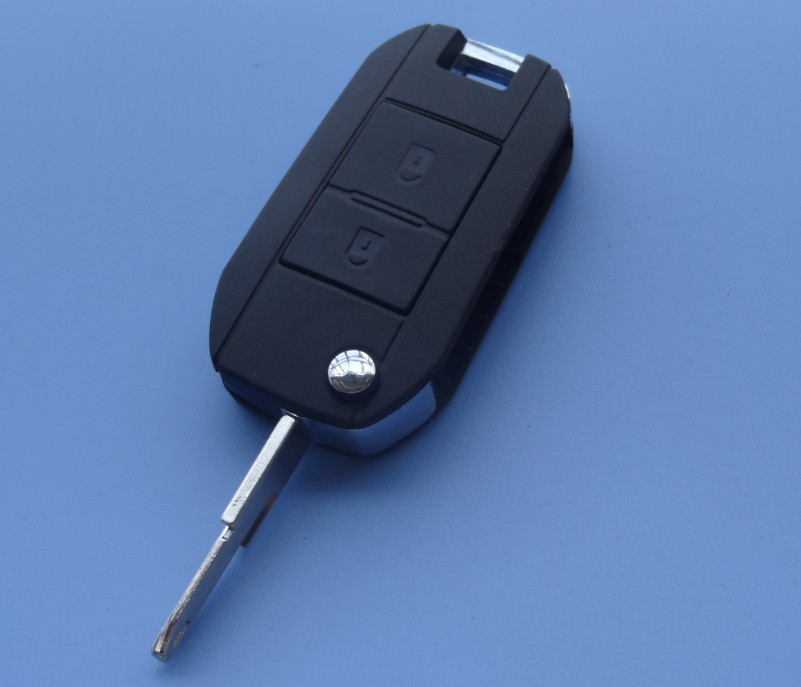 Guaranteed 100 REPLACE case for Peugeot 206 207 2 Button Conversion Remote Flip Key Fob