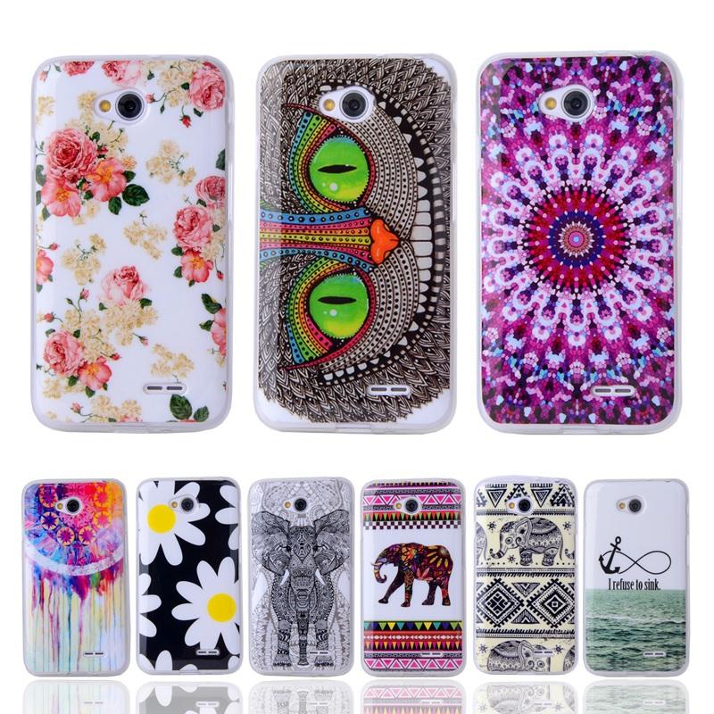 купить Чехол для для мобильных телефонов OHMG LG L65 D285 D280 L70 D320 D325 For LG L70 L65 недорого