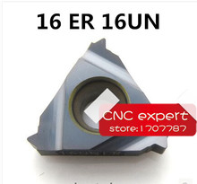 Buy 16 ER 16 UN Carbide Threading Inserts External Threading Insert Indexable Lathe Inserts Threaded Lathe Holder for $21.58 in AliExpress store