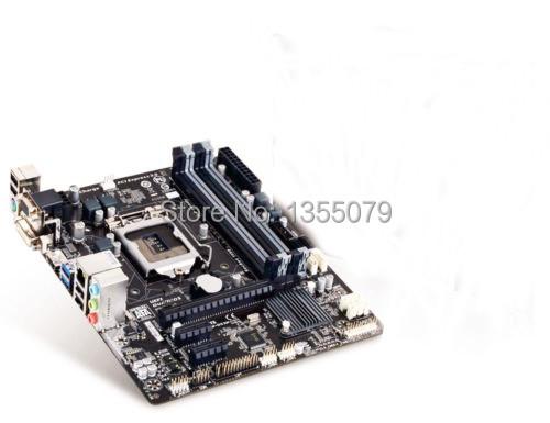 LGA 1150 B85 HDMI DVI D-SUB UEFI BIOS mATX DDR3 1600 Motherboards GA-B85M-DS3H(China (Mainland))