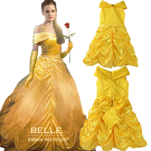 Buy GIRLS princess belle Halloween Beauty Beast Costume kids clothes Girl Costume Fancy Dress Cosplay Costume children cloth for $11.69 in AliExpress store