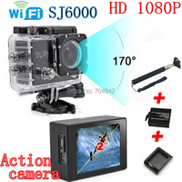 "2015 New SJ6000 WIFI Action Camera 12MP Full HD 1080P 30FPS 2.0""LCD Diving 30M Waterproof Sport DV SJ6000 sport Camera"