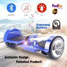2017 Koowheel 7.5 inch Patented hoverboard Bluetooth LED Two Wheels Balance Scooter smart balance hover boards overboard patin(China (Mainland))