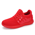 Spring Mens Air Mesh Casual Shoes Fashion Comfortable Breathable Superstar Trainers Zapatillas Hombre Red Bottom Shoes
