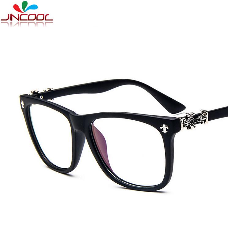 jincool 2016 vintage designer women eyeglasses frames optical brand eye glasses myopic frame men uv400 oculos