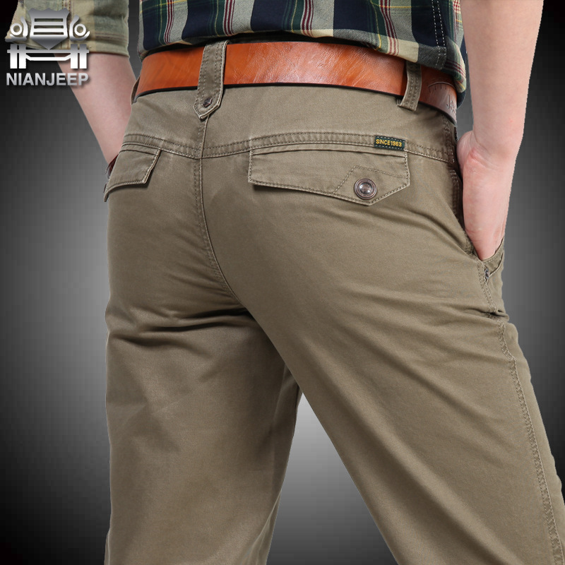 Мужские штаны NIANJEEP 30 40 42