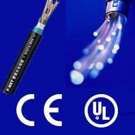 Waterproof indoor optic fiber cable with CE and ISO