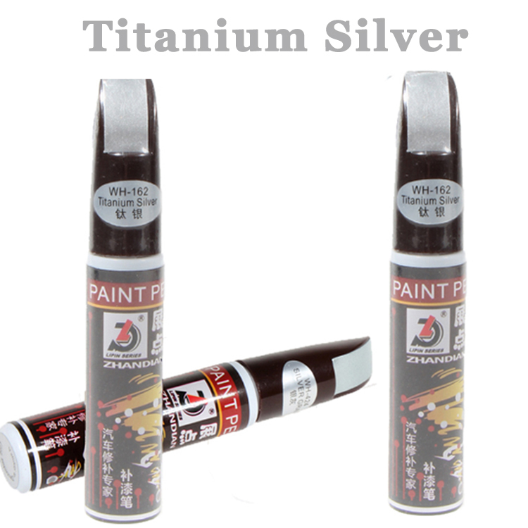 1pc Titanium Silver Professional Car Paint Repair Pen Universal Waterproof Fix It Pro Car Scratch Clear Remover Pen for Car Care(China (Mainland))