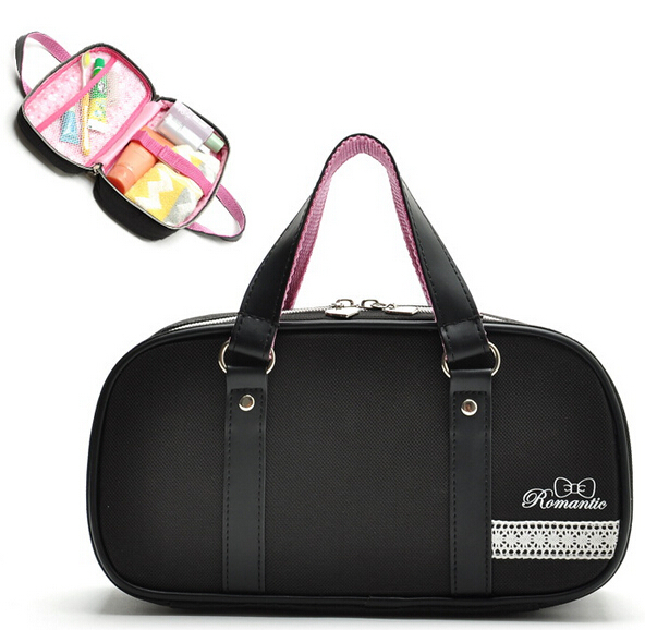 2015 fashion women lovely makeup organizer travel maquiagem girls cosmetic bags beauty case toiletry wash bag handbags CB00007(China (Mainland))