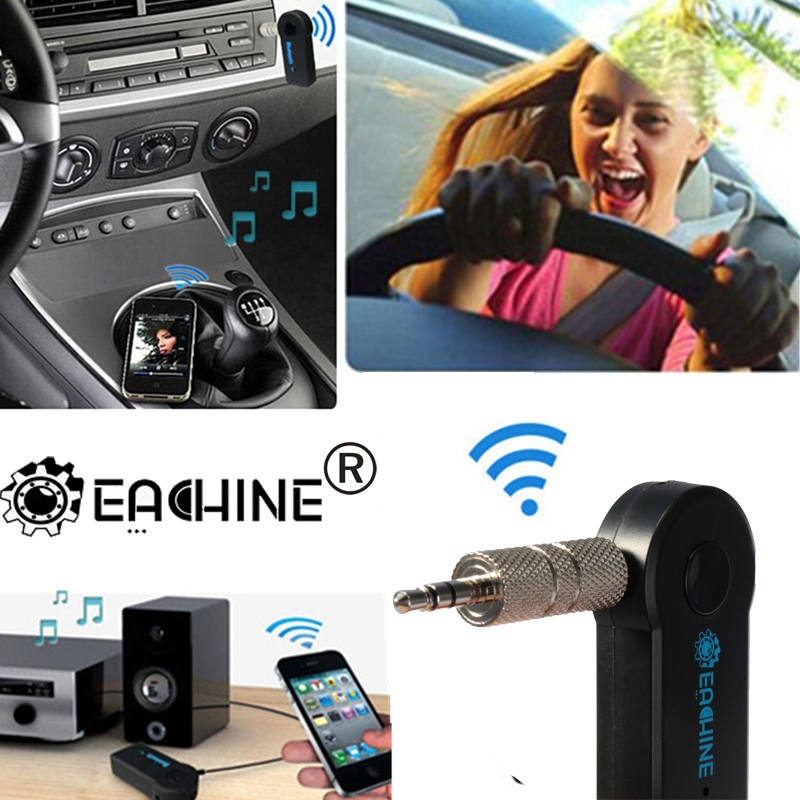 Newest Universal 3.5mm Streaming Car A2DP Wireless Bluetooth AUX Audio Music Receiver Adapter Handsfree with Mic For Phone MP3(China (Mainland))