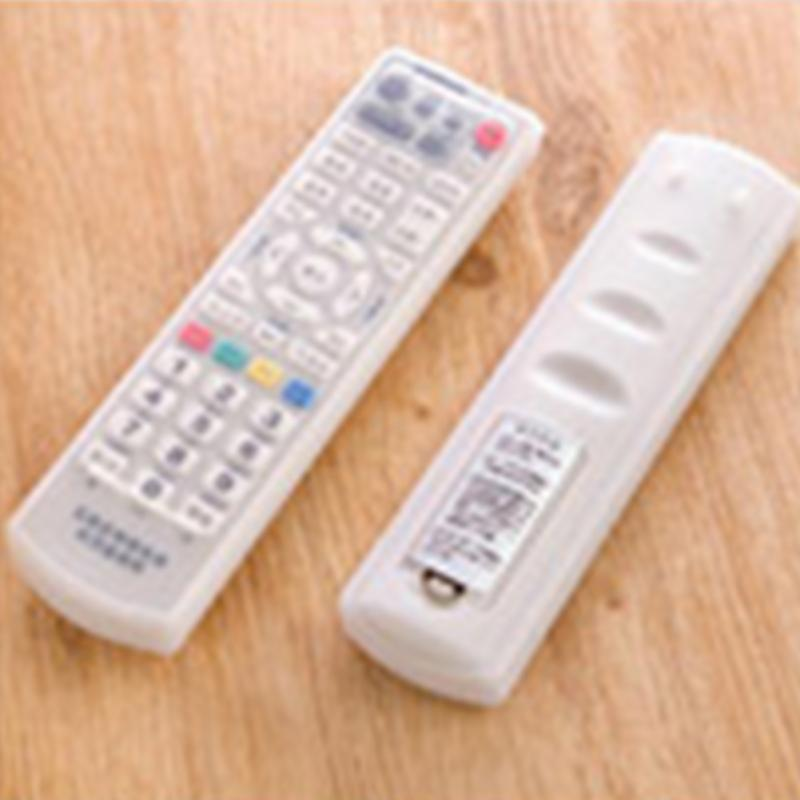 Waterproof Silicone Storage Bags TV Remote Control Dust Cover Protective Holder Organizer Home transparent Accessory(China (Mainland))