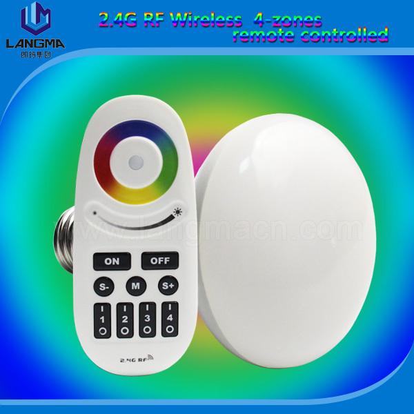 (2pcs/lot) 1pc RGBW par30+remote controller led colour changing ball bulb Bathroom Lighting multicolour fairy lights smart bulb(China (Mainland))