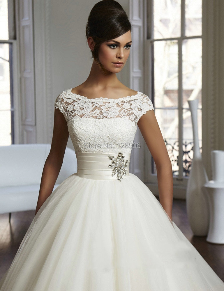 Empire Wedding Dresses With Cap Sleeves - Wedding Dress Ideas