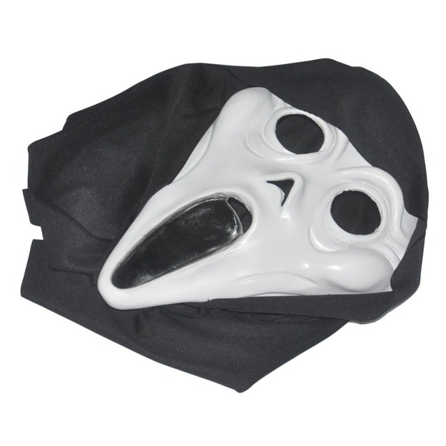 Halloween Costume Prop Adult Horror Ghost Scream Latex Mask Scary Silcone Latex Rubber Cosplay Creepy Face Masks
