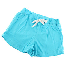 Baby Kid Girl Boy Cotton Sports Shorts Casual Summer Beach Hot Pants Shorts 2-7Y Free Shipping