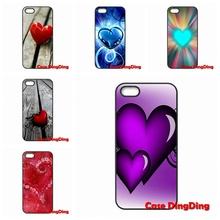 Mobile Phone kinds Love heart Moto X1 X2 G1 E1 Razr D1 D3 iPhone 4 4S 5 5C SE 6 6S Plus Apple iPod Touch - Cases Ding store