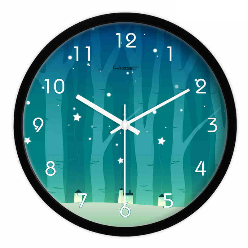 horloge murale design 3d led grand big digital horloge. Black Bedroom Furniture Sets. Home Design Ideas