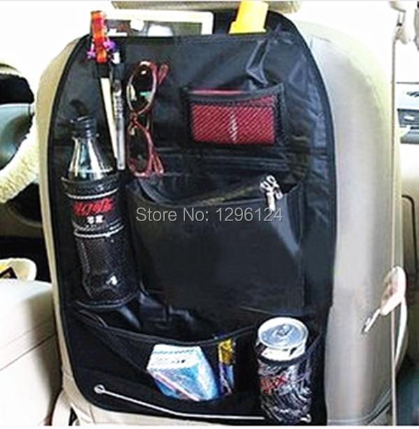 2PCS / LOT Car multi Pocket Storage Organizer Arrangement Bag of Back seat of chair Collector Storage Multi-Pocket Hold Bag(China (Mainland))