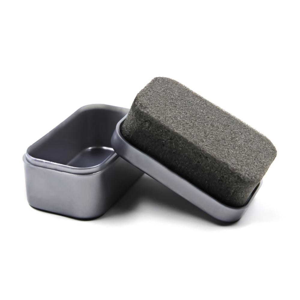 Leather Polishing Cleaning liquid wax shining Sponge polisher For Shoe Boot bag sofa 1Pcs Black Shine Shoes Brush Cleaner(China (Mainland))